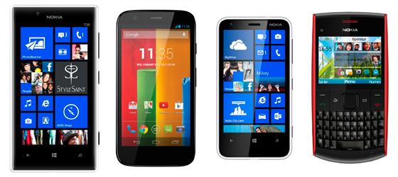 Ceulares precios de Nokia