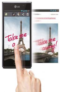 LG Optimus L5 II quick memo