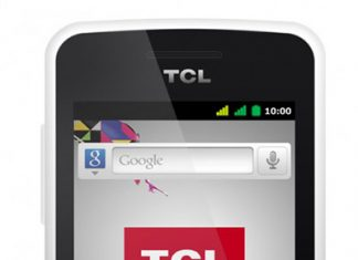 TCL 4110 smartphone