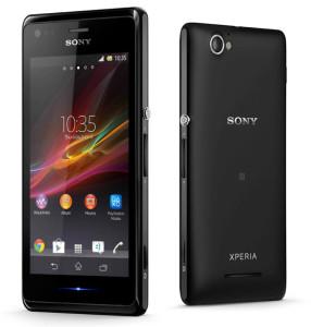 Sony Xperia M diseño