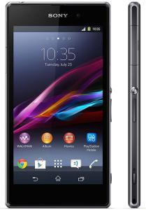 tamaño smartphone Sony Xperia Z1
